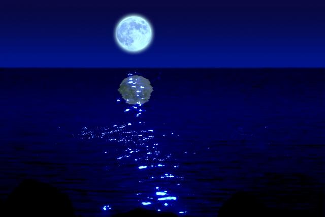 海で満ち潮を見る夢占い