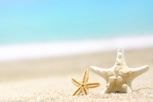 海辺や海岸にいる夢占い