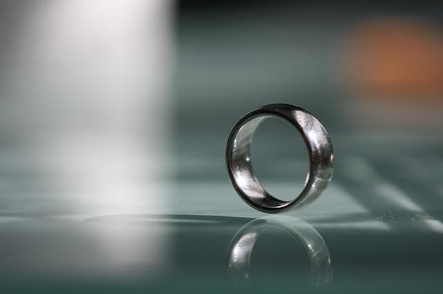 結婚指輪について言及しない