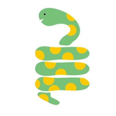 蛇に巻き付かれる夢占い