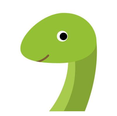 大きい蛇の夢占い