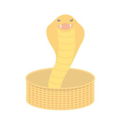 蛇を捕まえる夢占い