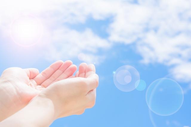 雲をつかむ夢占い