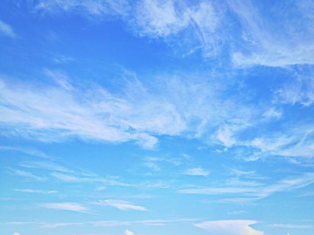 流れる雲の夢占い