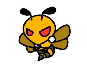 蜂に刺される夢占い