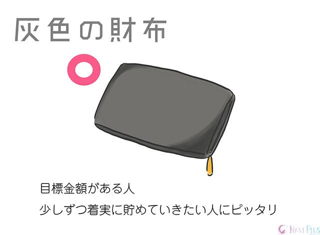 【金運・風水】グレーの財布、灰色の財布は手堅い貯金に特に向いている財布