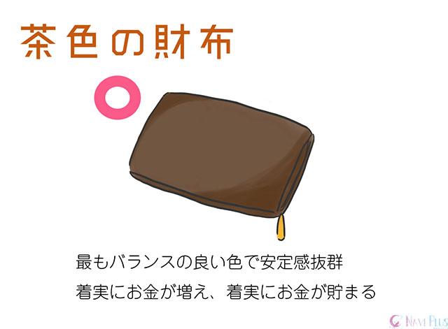 【風水・金運】茶色の財布は最もバランスの良い金運アップ効果が見込める