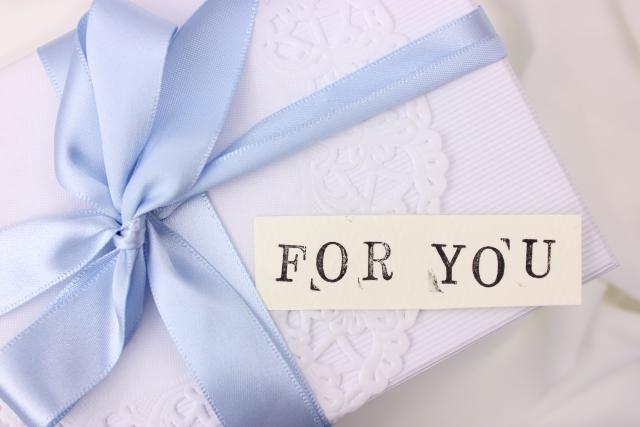 プレゼントをあげるのはNG!