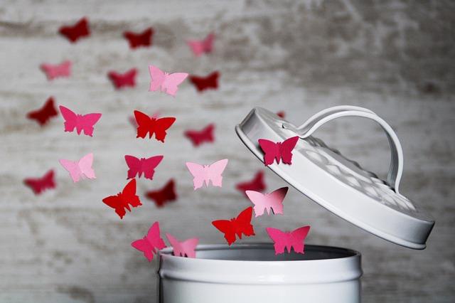 蝶が逃げる夢占い