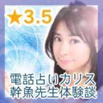 電話占いカリス幹魚(かんな)先生・体験談