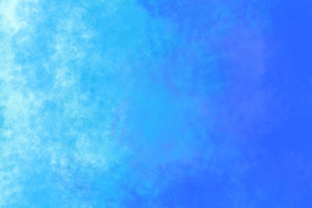 青色のオーラ