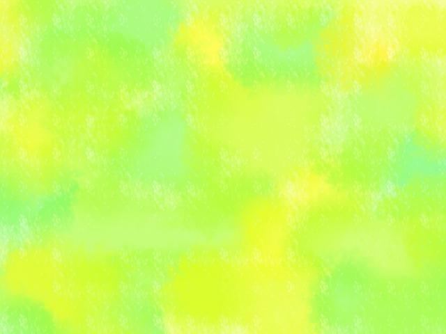 黄緑色のオーラ