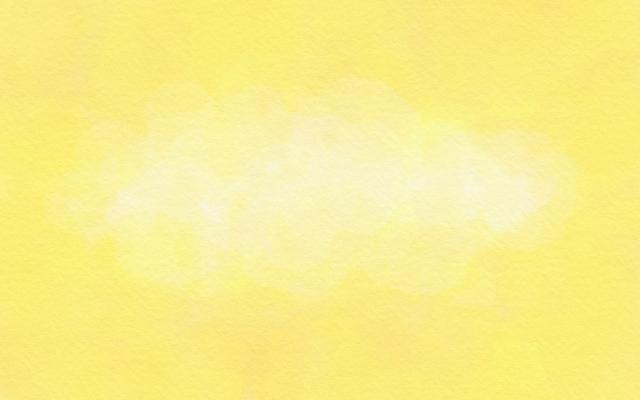 黄色のオーラ