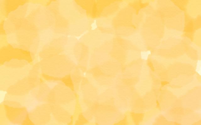 オレンジ色のオーラ
