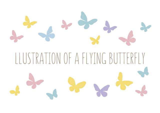 生まれ変わりを意味する『蝶』