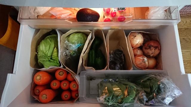 冷蔵庫内が整頓されている