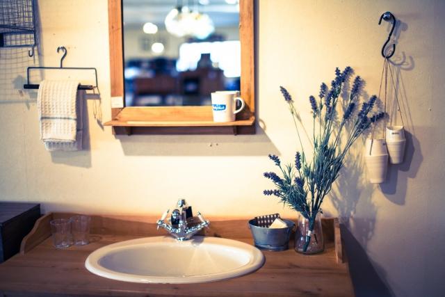 洗面所、コスメボックスは女性の運気に直結しやすい!