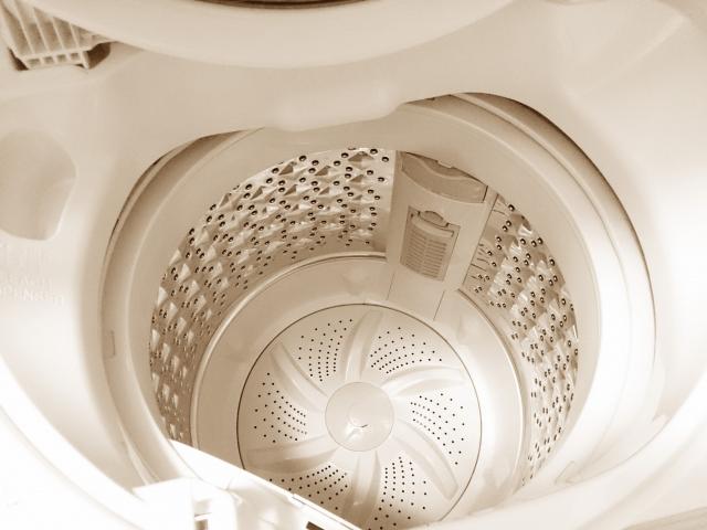 まずは洗濯機を綺麗にしよう!