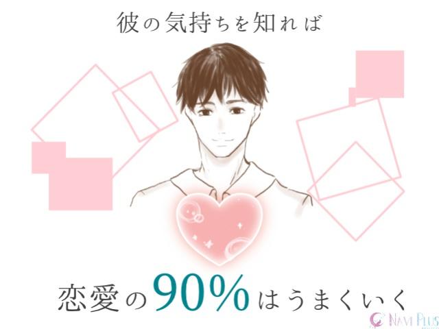 彼の気持ちを知れば恋愛の90%はうまくいく