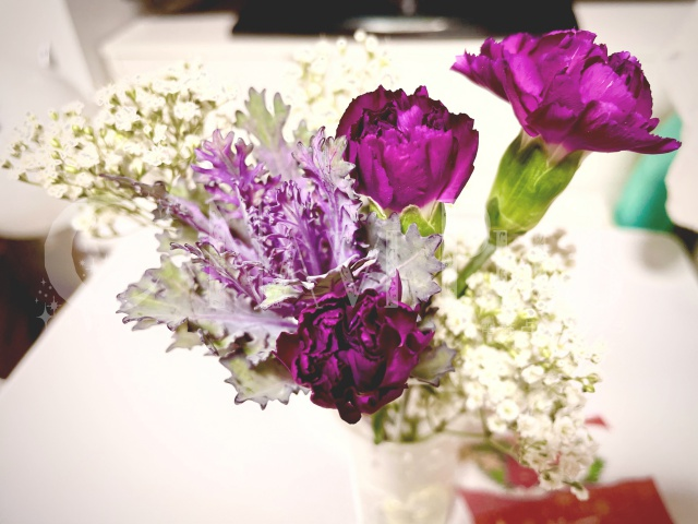 bloomee Life 体験コース(500円)届いたお花