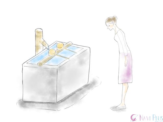手水舎(ちょうずや)の作法1