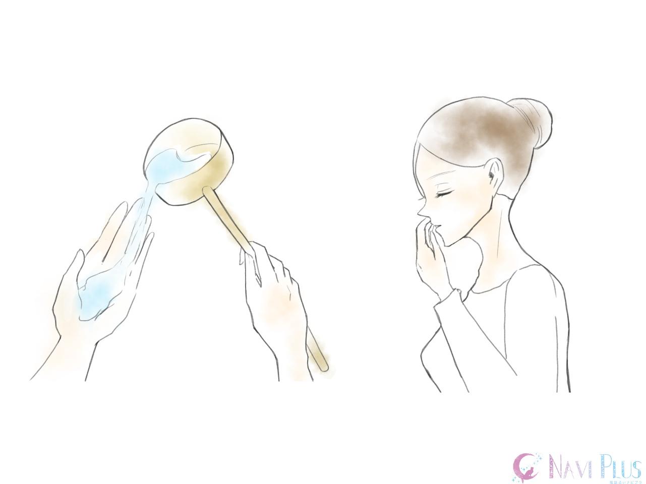 手水舎(ちょうずや)の作法4