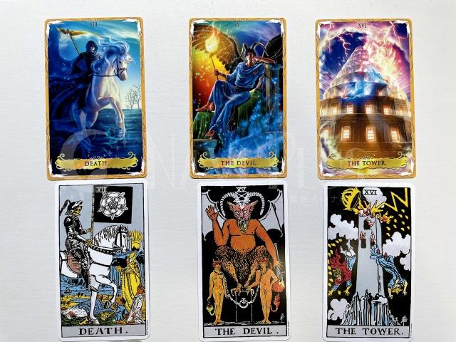 昨今の多くのカードはウェイトスミス版を基に作られている