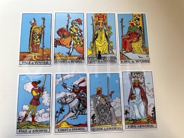 小アルカナ人物カード